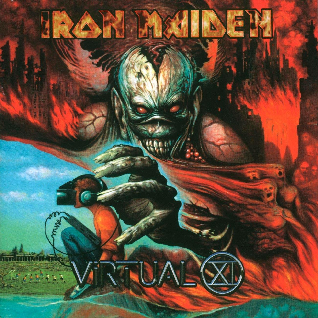 0190295851996 Parlophone  Iron Maiden Virtual XI (2LP)