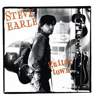 Steve Earle Guitar Town (LP)