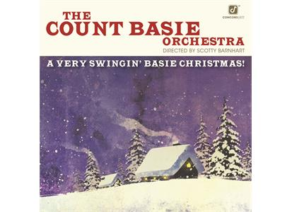 CJA00010 Concord  Count Basie Orchestra A Very Swingin' Basie Christmas (LP)