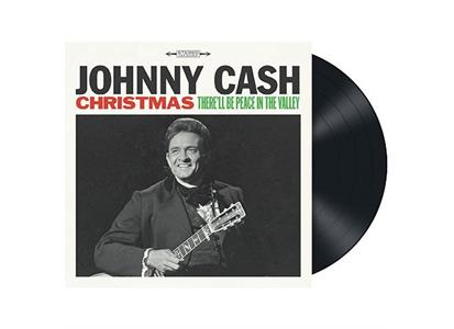 88985361961 Sony  Johnny Cash Christmas: There'll Be Peace in... (LP)