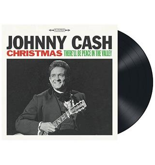 Johnny Cash Christmas: There'll Be Peace in... (LP)
