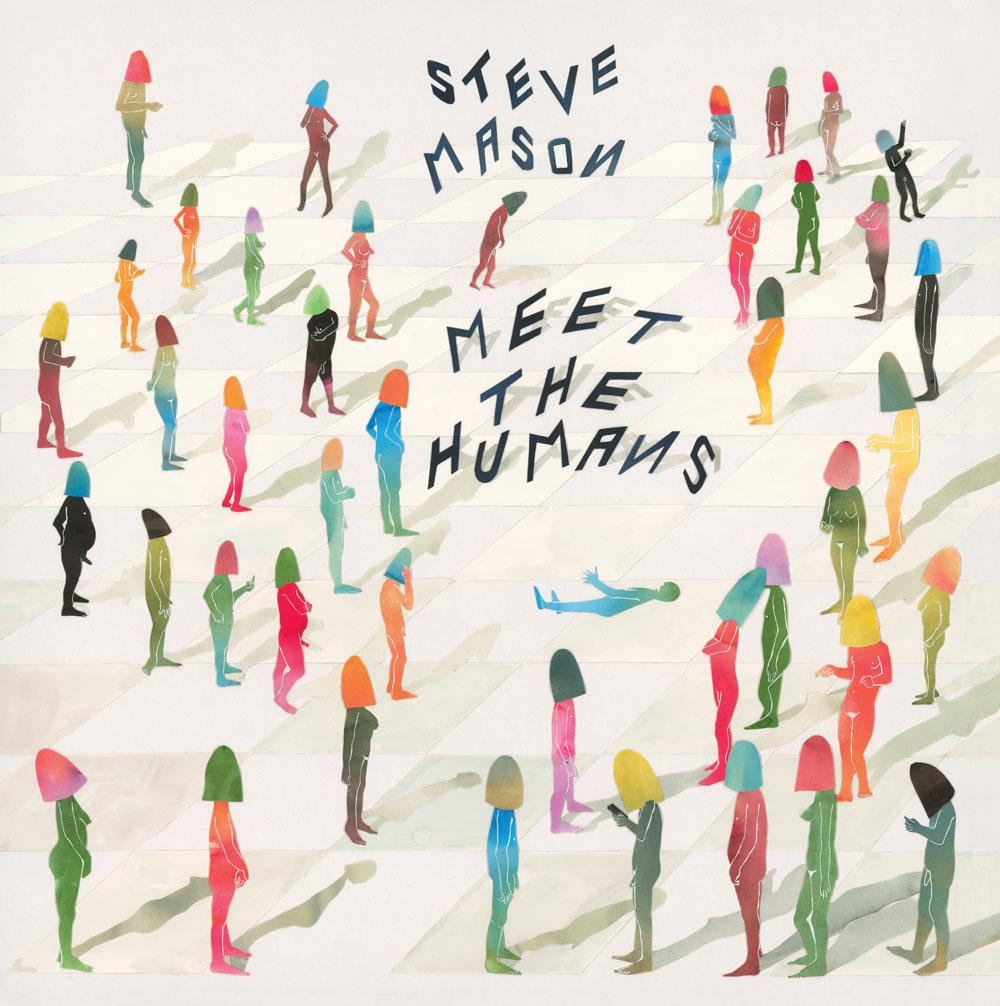 DS107LP Double Six  Steve Mason Meet the Humans (LP)