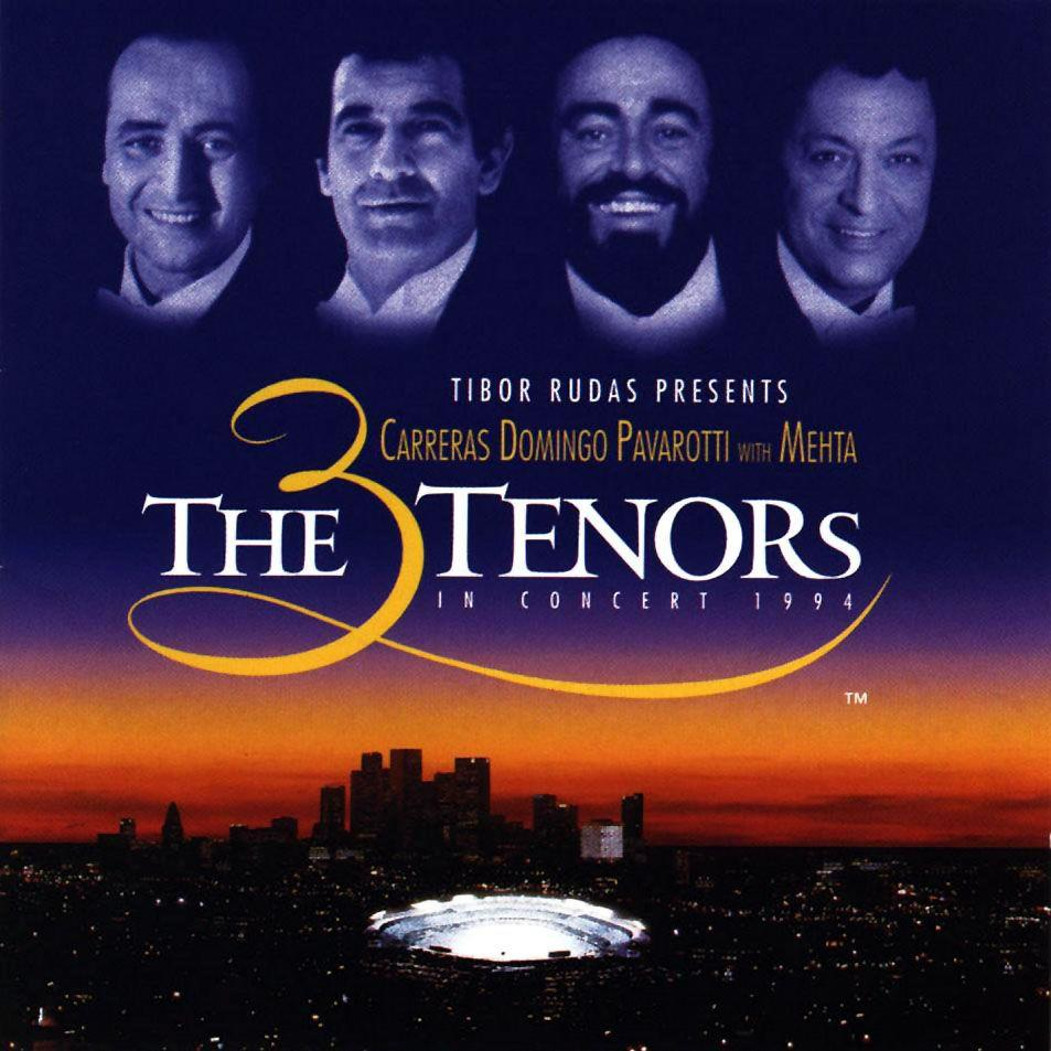 0190295871871 Warner  3 Tenors The 3 Tenors in concert 1994 (2LP)