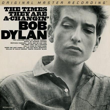 MFSL2-460M Mobile Fidelity  Bob Dylan Times They Are-A Changin' - Mono (2LP)