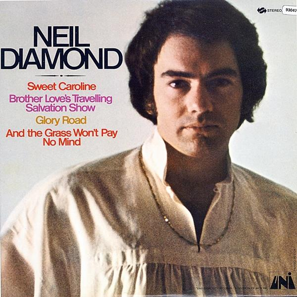 5746402 Capitol  Neil Diamond Brother Love's Travelling... (LP)