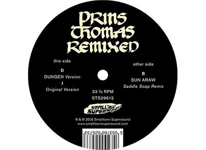 STS29612 Smalltown Supersound  Prins Thomas Dungen / Sun Araw Remixes (12'')