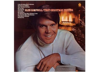 B002518901 Capitol  Glen Campbell That Christmas Feeling (LP)