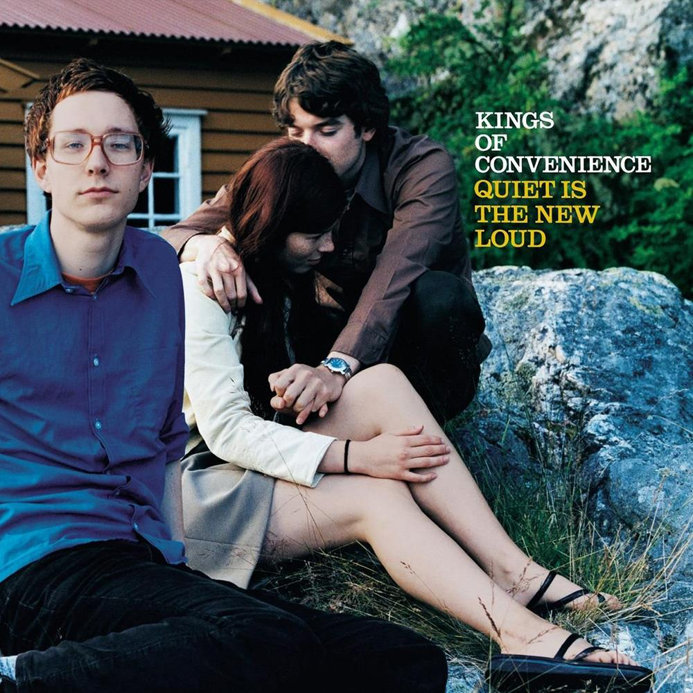 4774641 Astralwerks  Kings of Convenience Quiet Is the New Loud (LP)