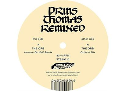 STS29712 Smalltown Supersound  Prins Thomas The Orb Remixes (12'')
