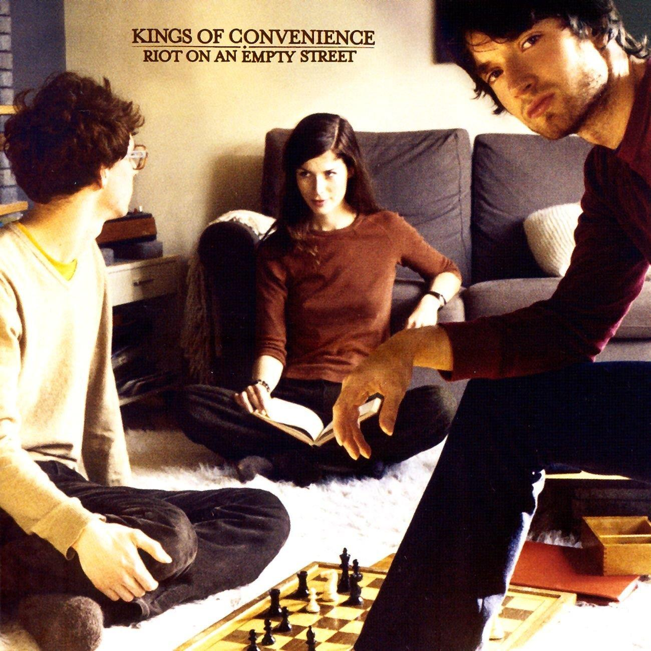 4774642 Universal  Kings of Convenience Riot On An Empty Street (LP)