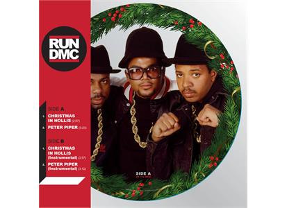 "88985340141 Sony  Run DMC Christmas In Hollis - Picture Disc (12"")"