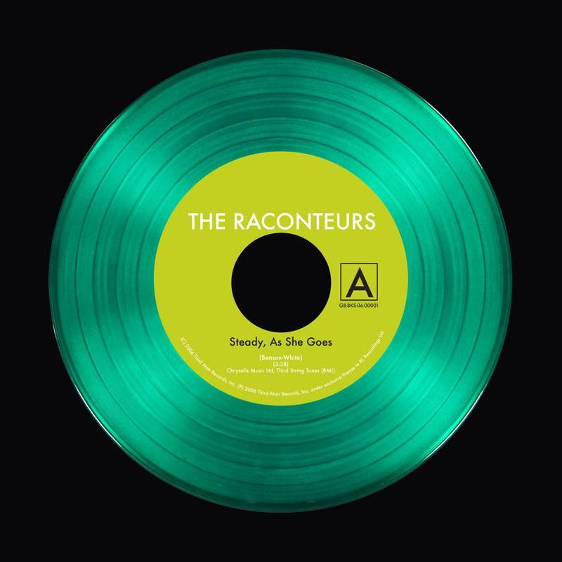 "TMR-120 Third Man Records  Raconteurs Steady, As She Goes (7"")"