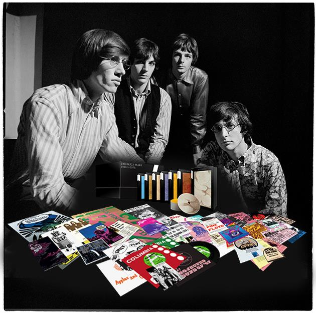 0190295950255 Parlophone  Pink Floyd Early Years 1965-1972 (CD Box)