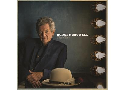 NW5131 New West  Rodney Crowell Close Ties (LP)