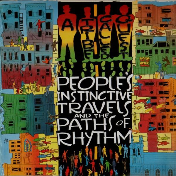 88875172371 Jive  A Tribe Called Quest People's Instinctive Travels...(2LP)
