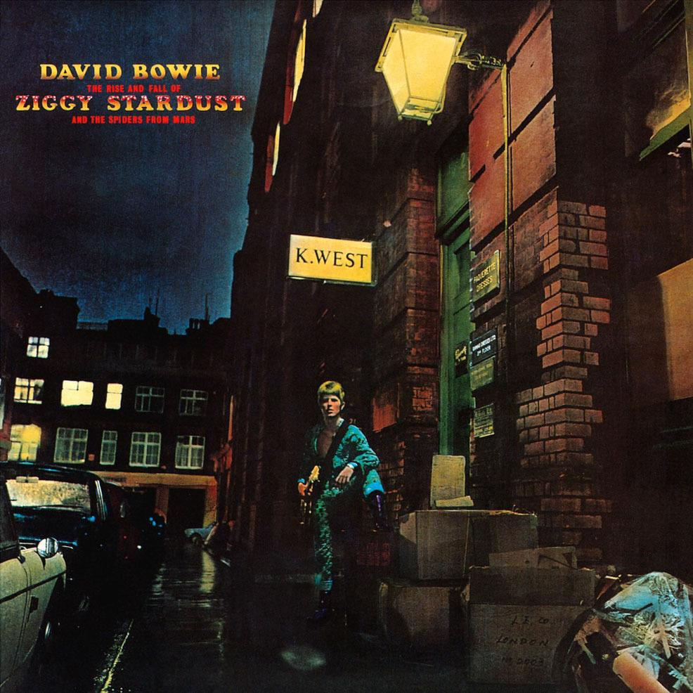 2564628737 Parlophone  David Bowie The Rise and Fall of Ziggy Stardust (LP)