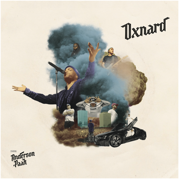 0190296917523 Music Theories  Anderson Paak Oxnard (2LP)