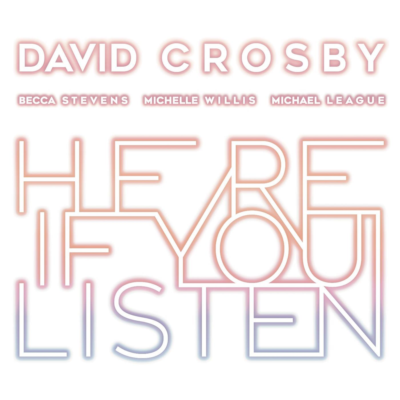 4050538431469 BMG  David Crosby Here If You Listen (LP)