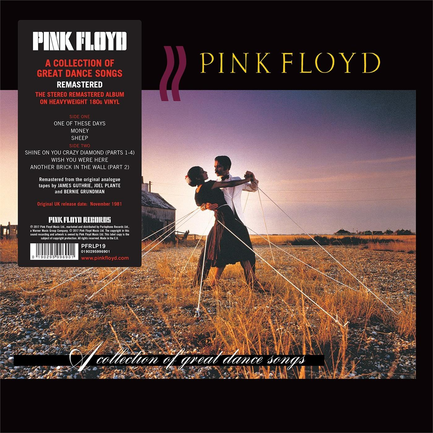 0190295996901 Parlophone  Pink Floyd A Collection Of Great Dance Songs (LP)