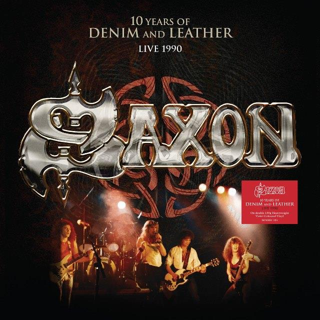 DEMREC235 Demon  Saxon 10 Years of Denim and Leather (2LP)