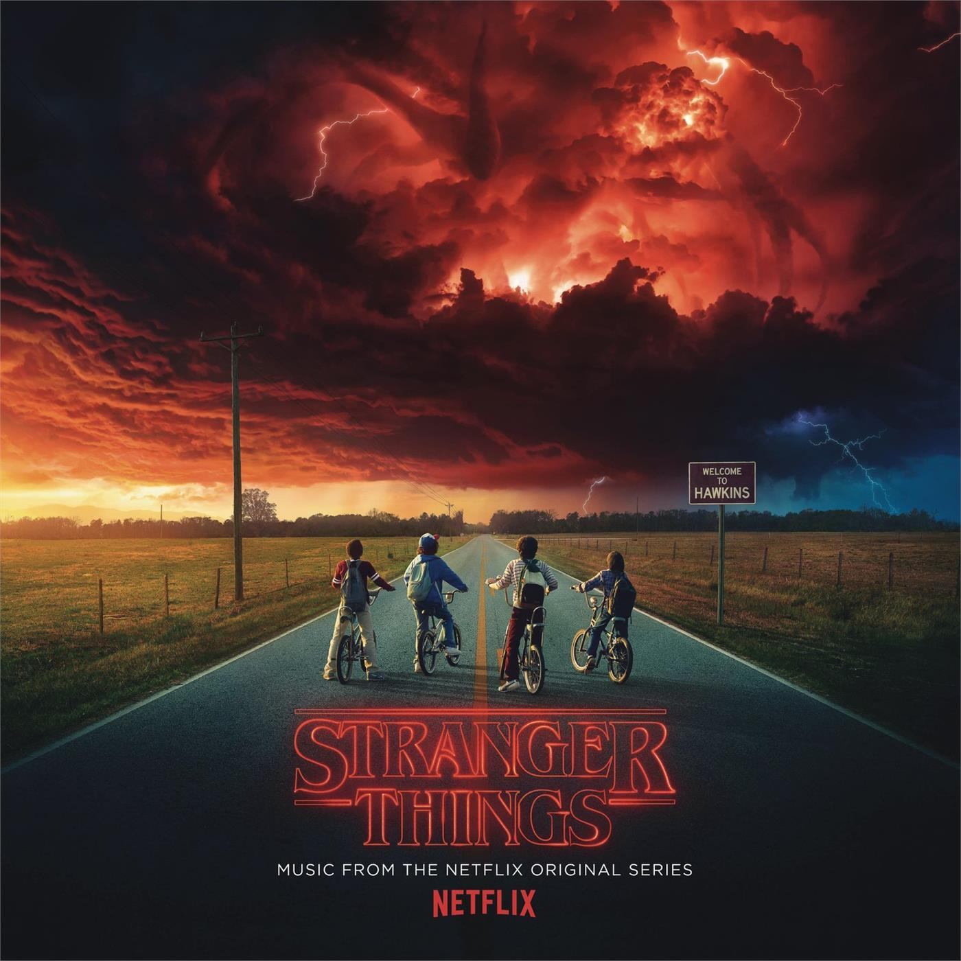88985480901 Legacy Recordings  Soundtrack Stranger Things - Music From (2LP)