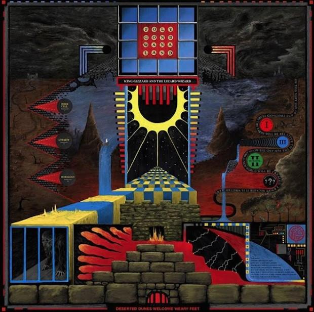 0882321215 ATO  King Gizzard & The Lizard Wizard Polygondwanaland (LP)