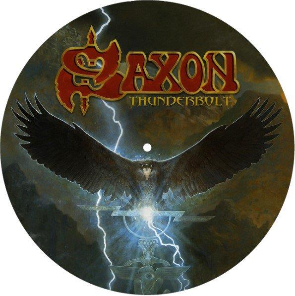 0190296918094 Silver Lining Music  Saxon Thunderbolt (Picture disc) (12'')