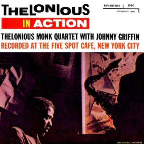 FANOJC103 Fantasy  Thelonious Monk Quartet / Johnny Griffin Thelonious In Action (LP)