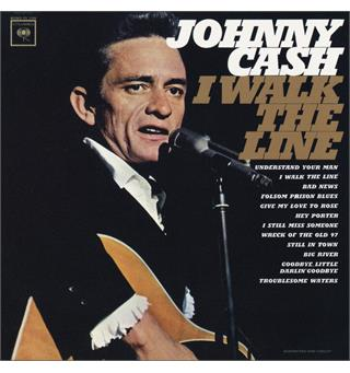 Johnny Cash Walk the Line: Greatest Hits (LP)