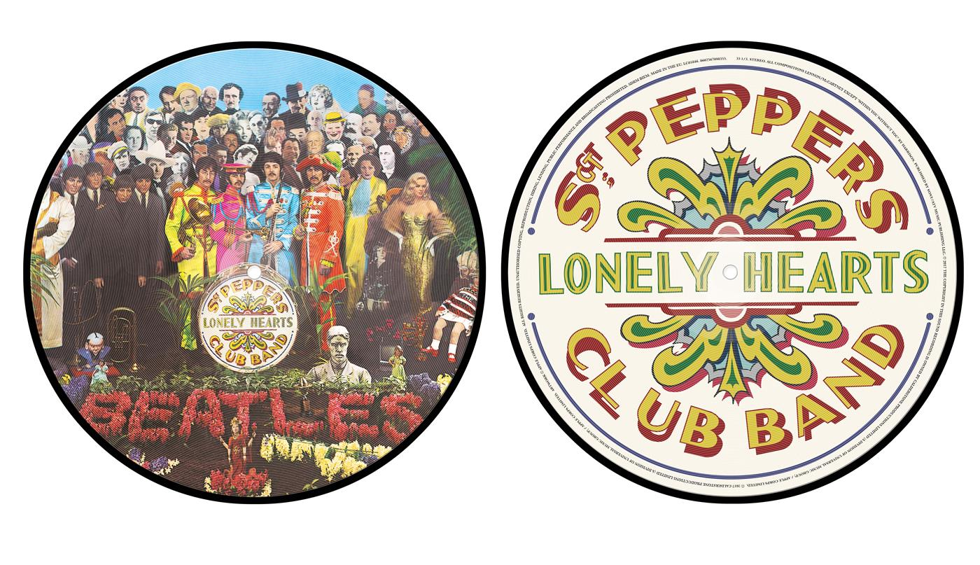 56709835 Universal  Beatles Sgt. Pepper's Lonely Hearts... (LP- PIC)