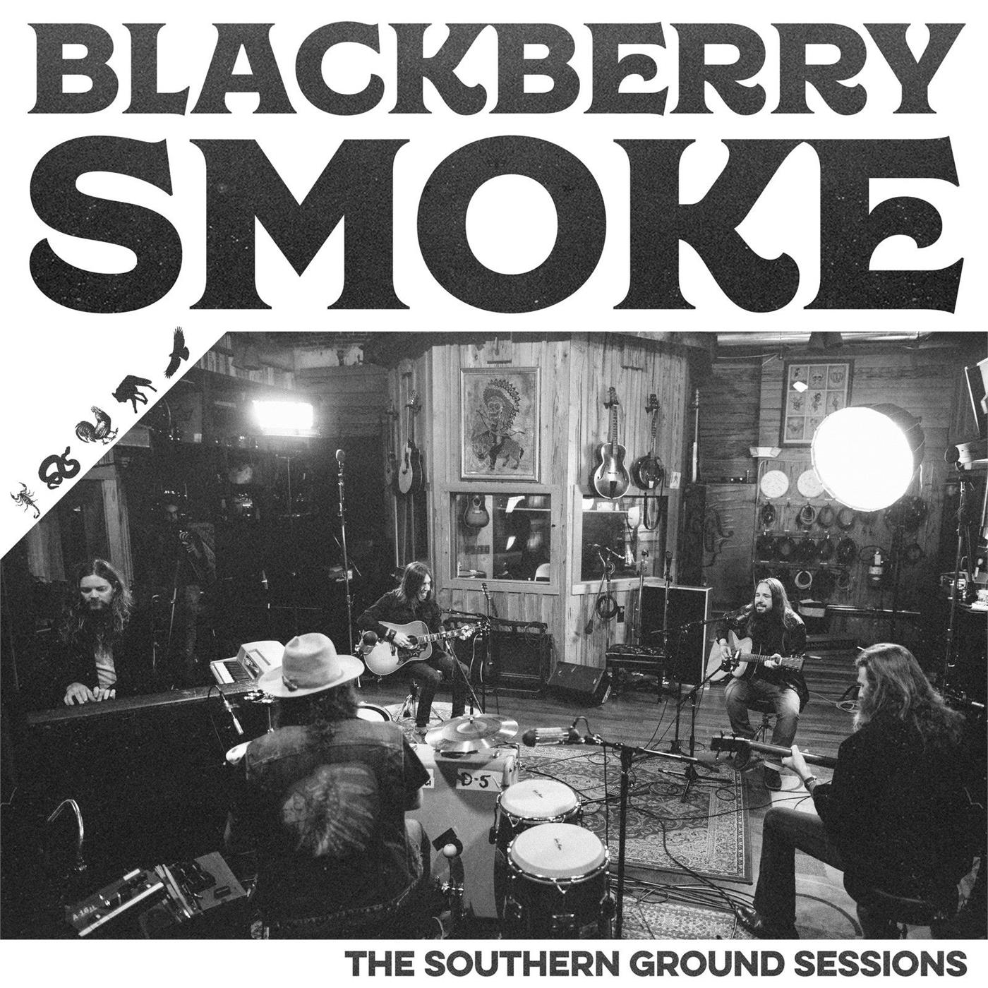 5055006561425 Southern Ground  Blackberry Smoke Southern Ground Sessions (LP)