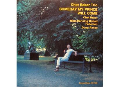 G1180 Steeple Chase  Chet Baker Trio Someday My Prince Will Come (LP)