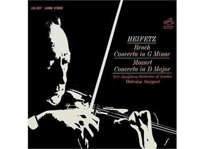 AAPC2652 Analogue Productions  Bruch / Mozart / Heifetz / Sargent Concerto in G Minor / D Major (LP)