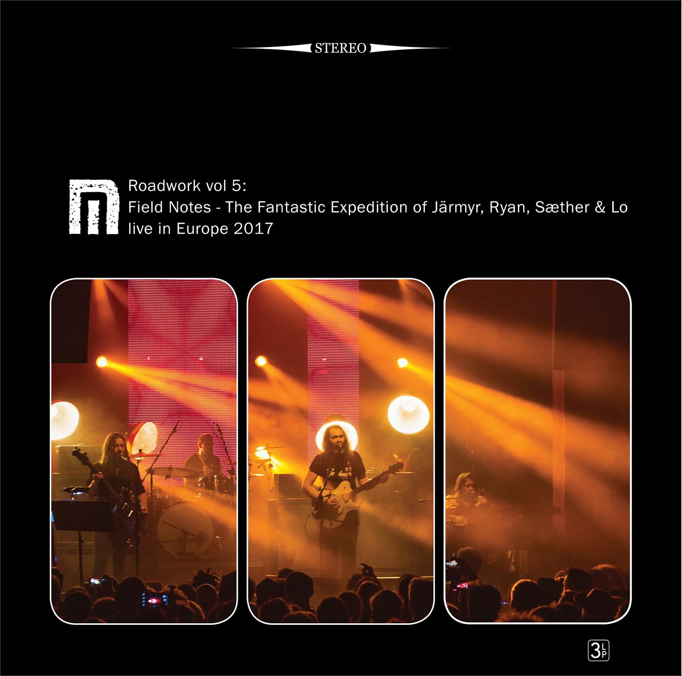 MPLP302 Rune Grammofon  Motorpsycho Roadwork Vol. 5 (3LP+2CD)