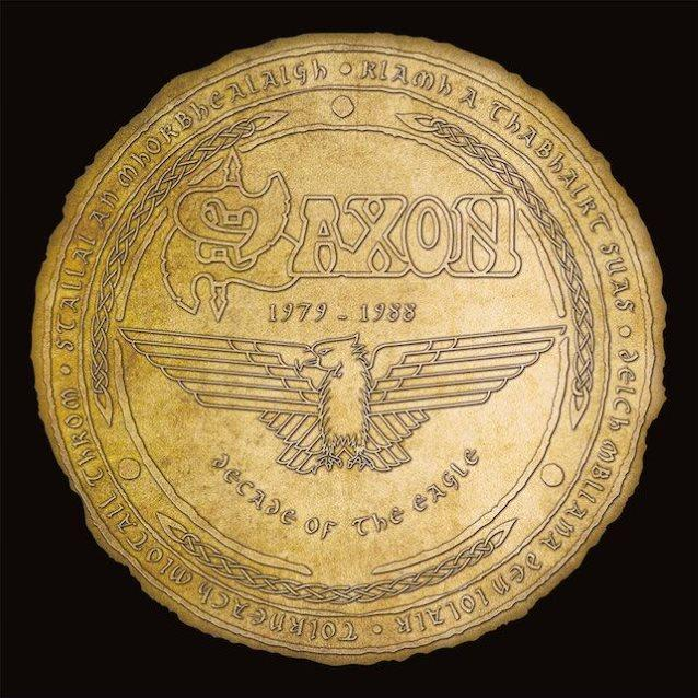 4050538324778 BMG  Saxon Decade Of The Eagle - Deluxe (4LP)