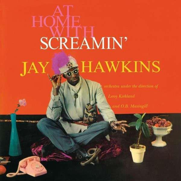 WLV82009 Wax Love  Screamin' Jay Hawkins At Home With Screamin' Jay Hawkins (LP)