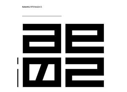 WARPLP364-2 Warp  Autechre NTS Session 2 (3LP)
