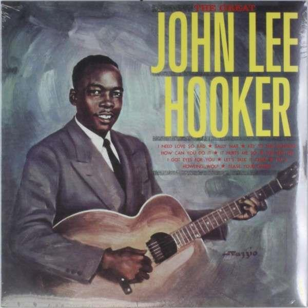 WLV82030 Wax Love  John Lee Hooker The Great (LP)