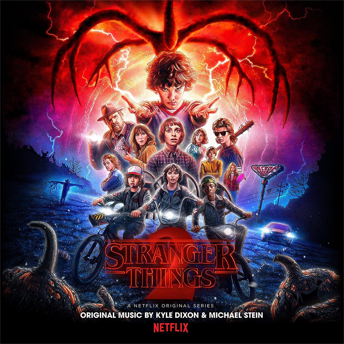 LSINV194LPCOL Invada  Kyle Dixon / Michael Stein / Soundtrack Stranger Things 2 (2LP)