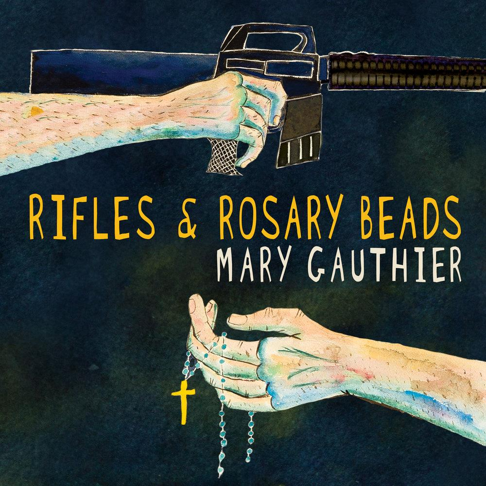 ITB007 Thirty Tigers  Mary Gauthier Rifles & Rosary Beads (LP)