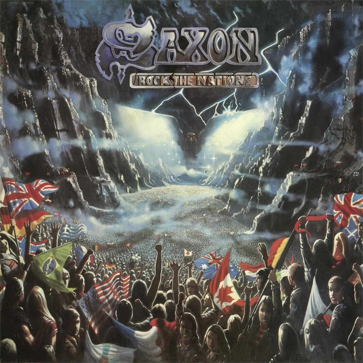 4050538348040 BMG  Saxon Rock the Nations (LP)