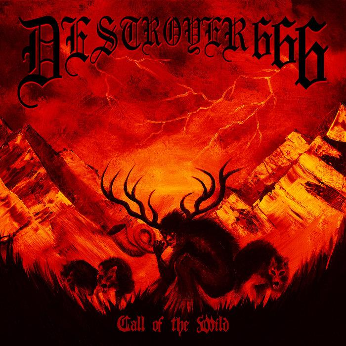 "SOM457EPCY Season of Mist  Deströyer 666 Call Of The Wild (12"" - GUL)"