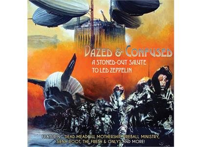 CLE745 Cleopatra  Diverse artister Dazed & Confused - A Stoned-Out...(2LP)