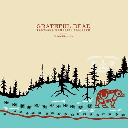603497858125 Grateful Dead  Grateful Dead Portland Memorial Coliseum (6LP)