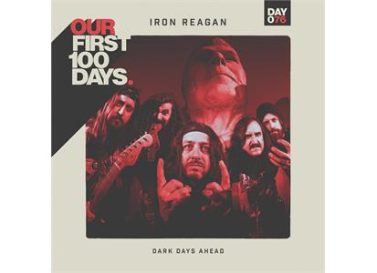 "0811408030632 Run For Cover  Iron Reagan Dark Days Ahead (12"")"
