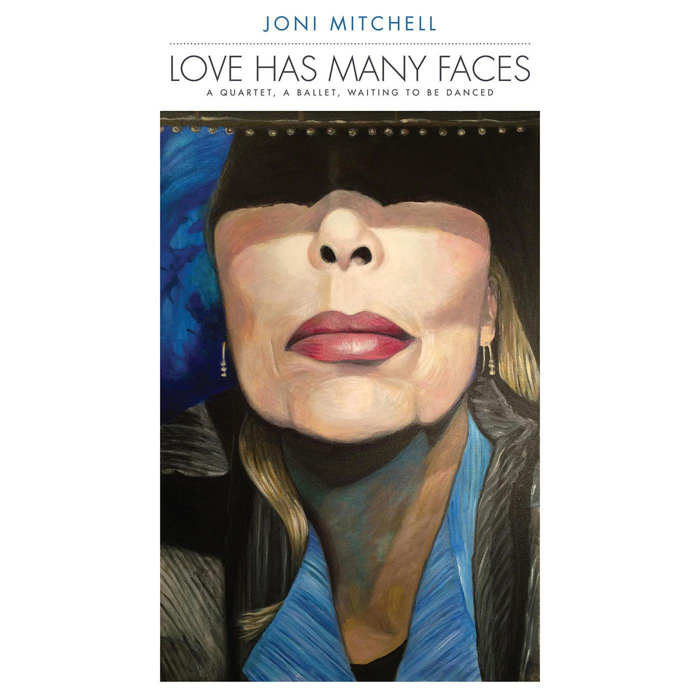 0603497856244 Rhino  Joni Mitchell Love Has Many Faces (8LP)
