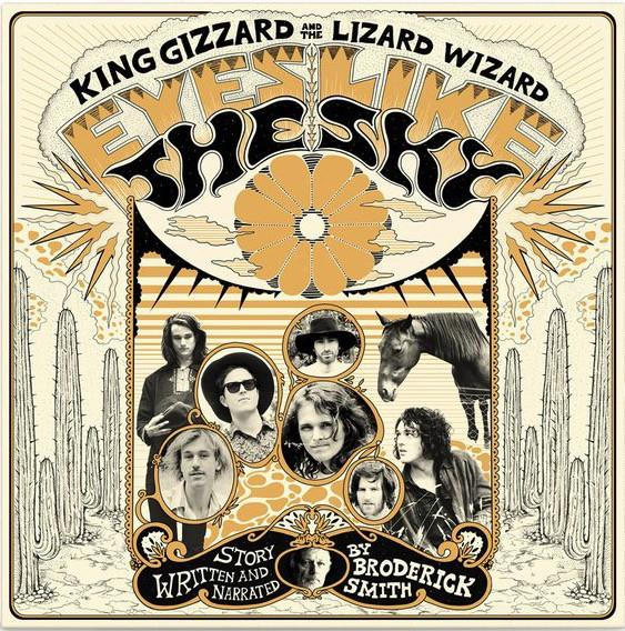 FLT-005R Flightless  King Gizzard & The Lizard Wizard Eyes Like The Sky  (LP)