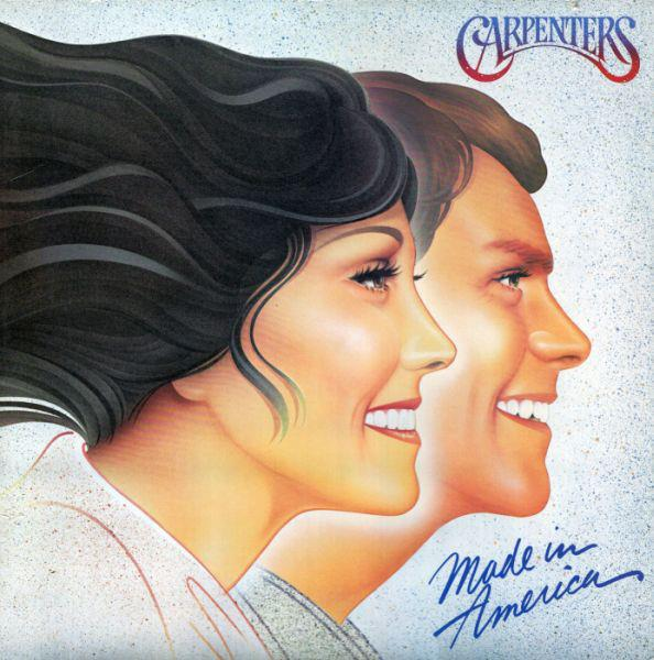 B002634901 A&M  Carpenters Made in America  (LP)