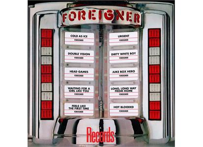 0603497857890 Warner  Foreigner Records: Greatest Hits (LP)