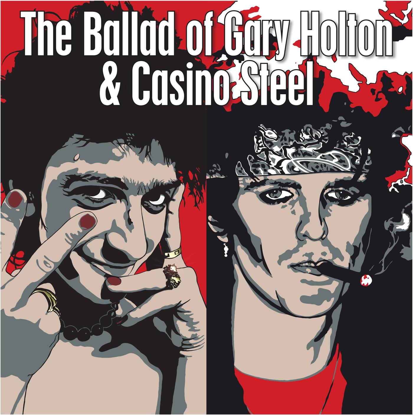 BDLP0118 Big Dipper  Gary Holton & Casino Steel Ballad of Holton & Steel (LP)